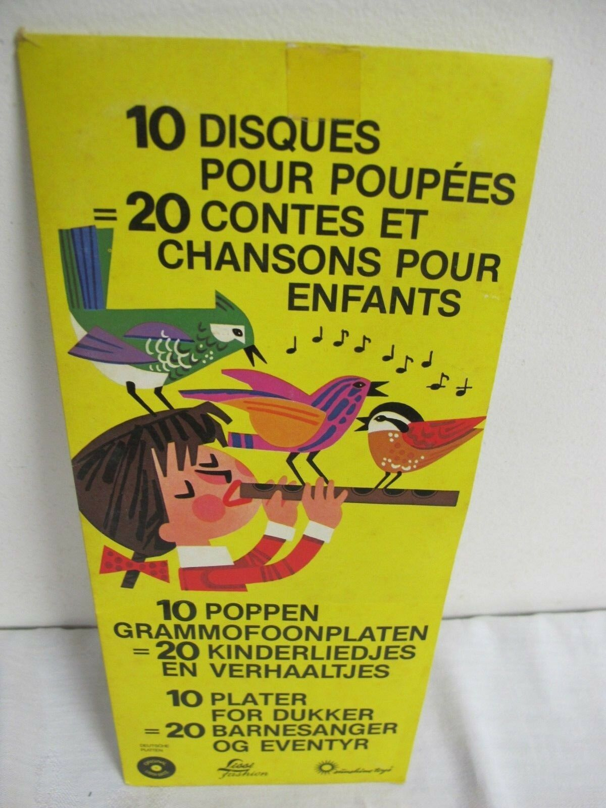 LISSI BATZ POPPEN  DOLL RECORDS SUNSHINE TOYS 20 SONGS AND TALES ENGLISH