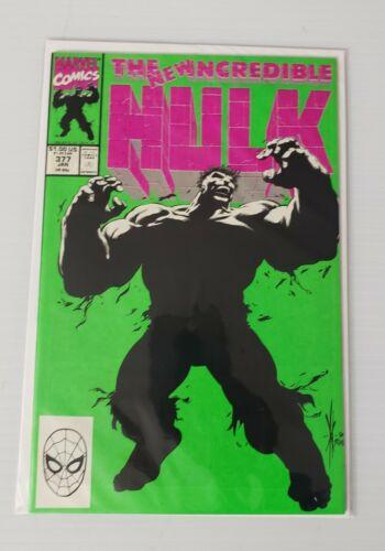 Incredible Hulk #377 VF//NM KEY ISSUE 1ST PROFESSOR HULK AND GUILT HULK MARVEL