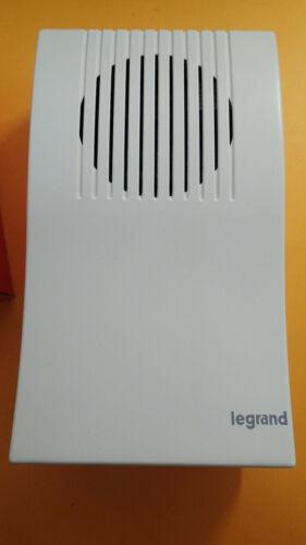 Carillon electronique Legrand Salsa Adagio 230v avec transfo Legrand 41744