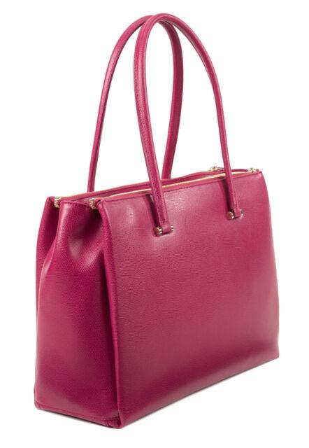 Nwt Furla Lotus Carry All Mitro Satchel Handbag