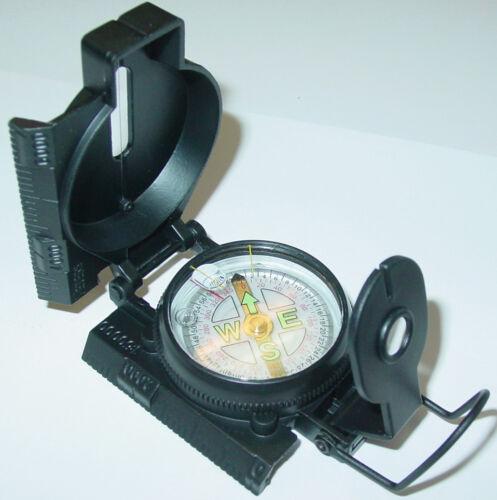 Metallgehäuse mit Tasche Taschenkompass AS37 Peil-und Marschkompass
