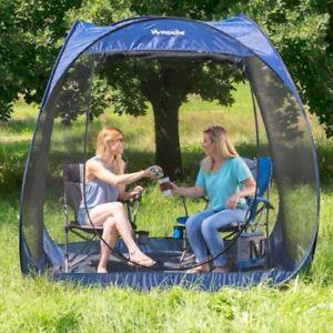 Outdoor Pop Up Screen Room With Floor Yard Sun Shelter