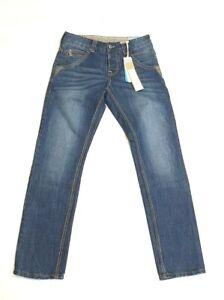 F11) Designer TIMEZONE Harold TZ SLim Leg Jeans Gr. W29 L32 blau Neu 89,95€