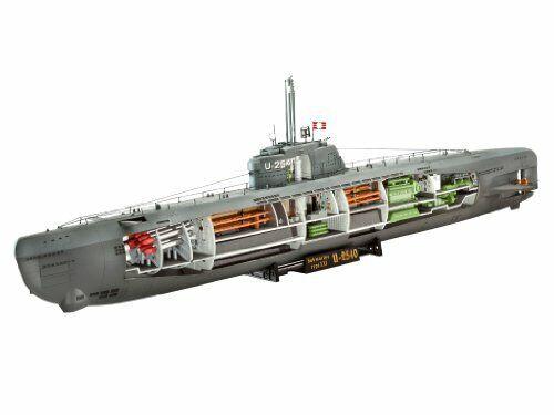 Revell 05078 U -båt XXI Typ w. Interieur modellllerlerl Kit