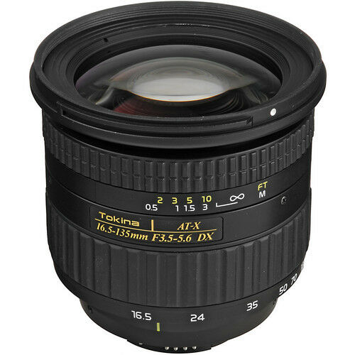 Tokina 16.5-135mm ATX DX Nikon Mount
