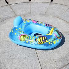1pc Baby Seat Swimming Swim Pool Aid Trainer Beach Float Ring Inflatable Random