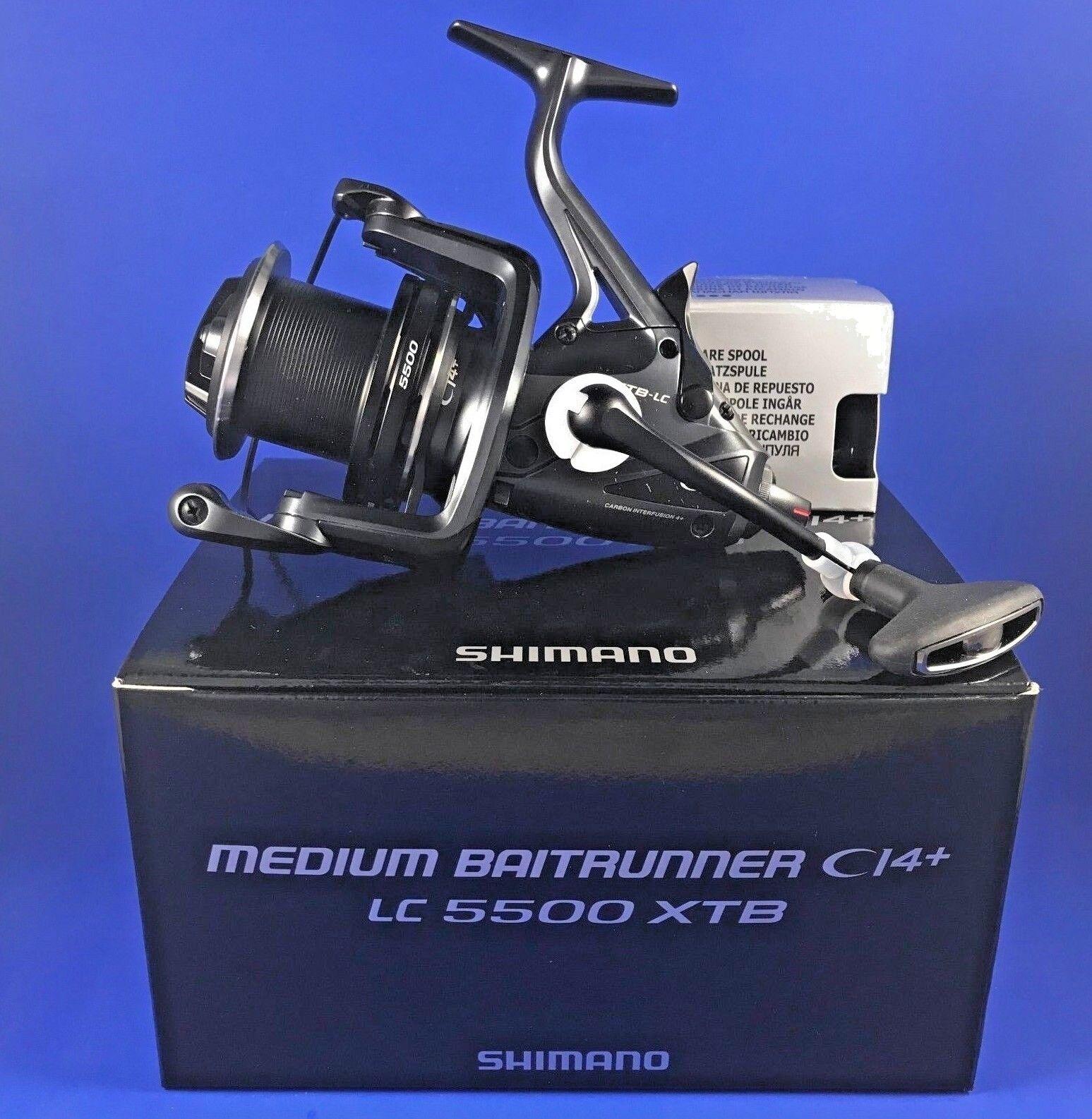 Medio Shimano Baitrunner Ci4+ Xt-b largo elenco    mbtrci 4 xtblc    Reel De Pesca