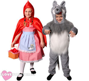 Details about CHILD FAIRY TALE COSTUME FANCY DRESS BOYS GIRLS SCHOOL BOOK  WEEK CHARACTER