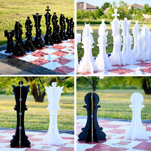 Giant-Collapsible-Outerlite-Chess-Set-34-034-tall-king