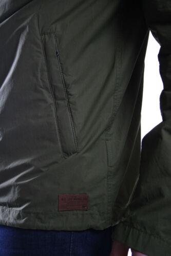 Rrp 50 Khaki Army leggera Giacca In cappuccio 110 Green con Lee £ sconto axZvTFpq