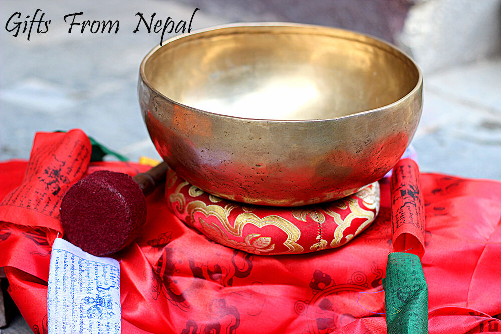9  Hand Hammerot Singing Bowl,Made of 7 metals, Meditation Bowls from Nepal 2015