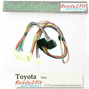 SOT-PC000005AA-j-Lead-cable-adaptor-for-Parrot-CK3100-CK3000-Toyota-Yaris