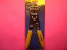 WIRE STRIPPER CRIMPER CUTTER IGNITION TERMINALS AUTOMATIC SPRING LOADED QUALITY