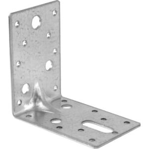 Bed Corner Fixings Connecting Brackets Heavy Duty Steel Sturdy Strong 175mm High