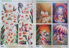 1 x A4 Reddy Die Cut Paper Decoupage Easter Cream Quarkers Ducks Celebrate 83592
