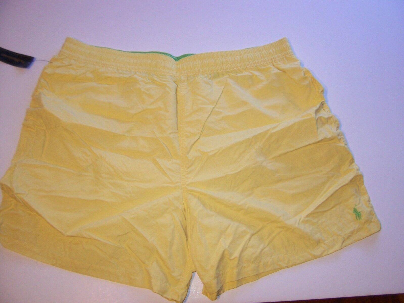 NEW Polo Ralph Lauren swimsuit boxer trunks swim shorts yellow 2XB 3XB 4XB