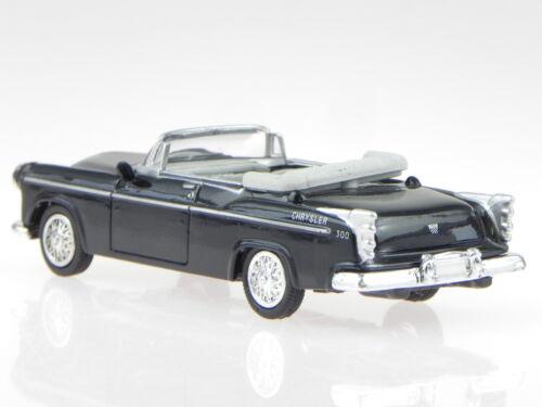 Chrysler C-300 Cabrio 1955 schwarz Modellauto NewRay 1:43