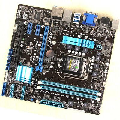 ASUS Motherboard P8H61-M PRO, LGA 1155, Intel H61(B3) Chipset, DDR3 Memory  | eBay