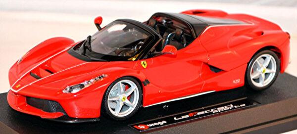 GéNéReuse Ferrari Laferrari Aperta 2016 Rouge Rouge 1:24 Bburago Laissons Nos Produits Aller Au Monde