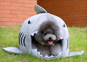 Requin Bouche Forme Animaux De Compagnie Maison Lit Pour Chien Chat