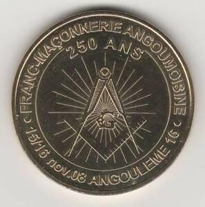 A-2008-TOKEN-MEDAILLE-MONNAIE-DE-PARIS-16-000-N-3-ANGOULEME-FRANC-MACONNERIE