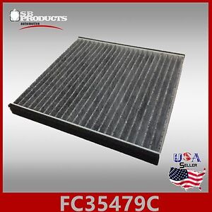 fc35479c toyota lexus carbon cabin air filter camry sienna rx350 gx470 es330 ebay. Black Bedroom Furniture Sets. Home Design Ideas