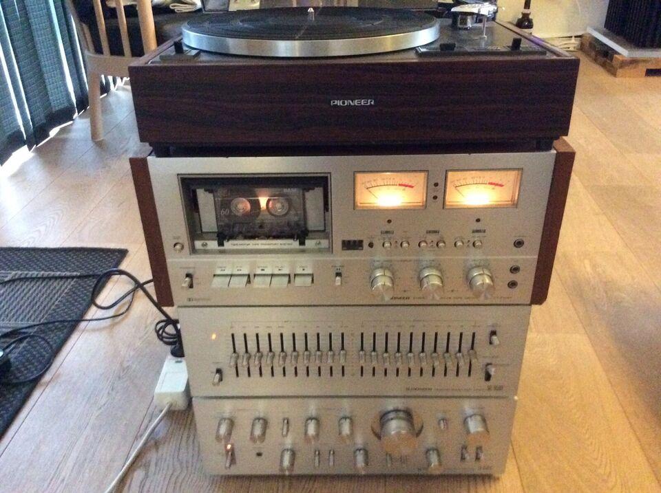 Stereoanlæg , Pioneer, SA-8500 mk 2
