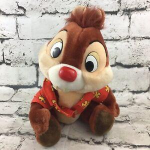 Vintage-Chip-n-Dale-Rescue-Rangers-034-Dale-034-Plush-Disneyland-Walt-Disney-World