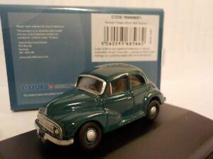 Model-Car-Morris-Minor-Green-1-76-New