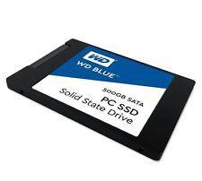 "Western Digital Blue SSD WDS500G1B0A 500GB SATA III 6Gbps 2.5"" 7mm Solid S"