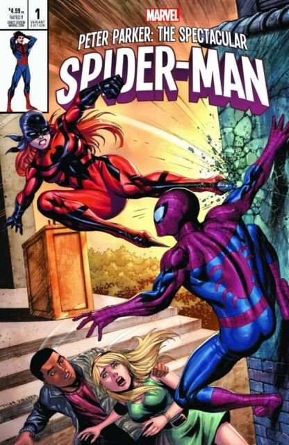 Peter Parker Spectacular Spiderman 1 Kirkham CX Mary Jane Variant NM