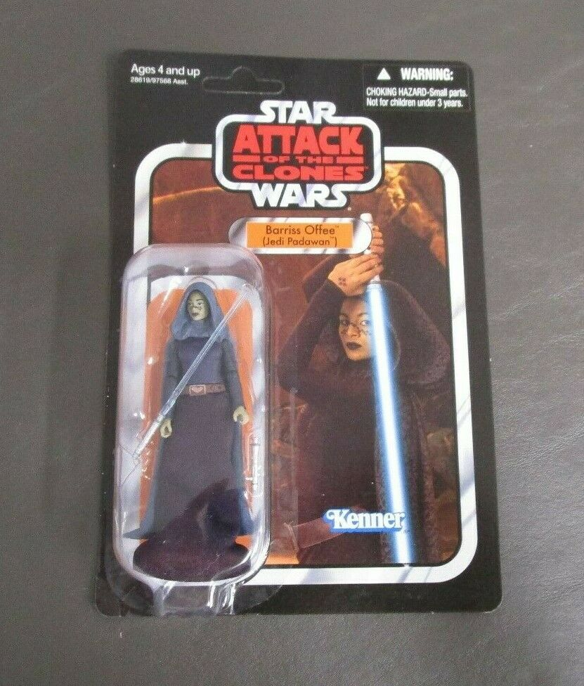 Barriss Offee (Jedi Padawan) 2012 STAR WARS Vintage Collection VC51 UNPUNCHED