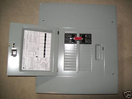 GE 100A//60A GENERATOR TRANSFER SWITCH breaker box 20 circuit