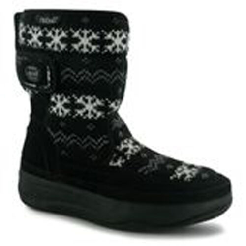 Size Up Skechers Boots Winter Snow Ski 8 Tone Post girl 3 Day Next Womens Ladies WEqZnaIxE