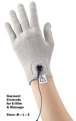 Handschuhelektrode - Textilelektrode Handschuh Reizstrom TENS EMS Elektromassage
