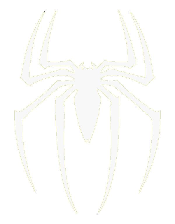 Aufkleber Skate 3M Scotchlite Reflektierend Aufkleber Spiderman Logo