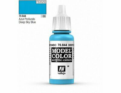 Energetic Modello Hobby Pittura 17ml Bottiglia Val844 Av Vallejo Color Airbrushing Supplies Profondo Blu