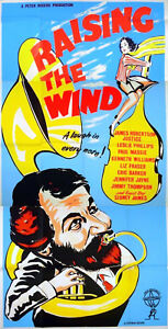 RAISING-THE-WIND-1961-James-Robertson-Justice-Leslie-Phillips-UK-3-SHEET-POSTER