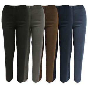 Détails sur Jean stretch Schlupfhose Femmes La bande élastique Décontracté chaque jour Pantalon 38 54 afficher le titre d'origine