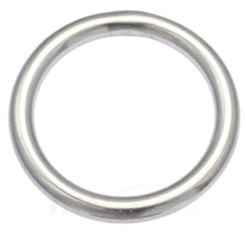 10 Stück Rundringe 6,0 x 40mm Edelstahl Niro VA Rundring O Ring Ringe Rund