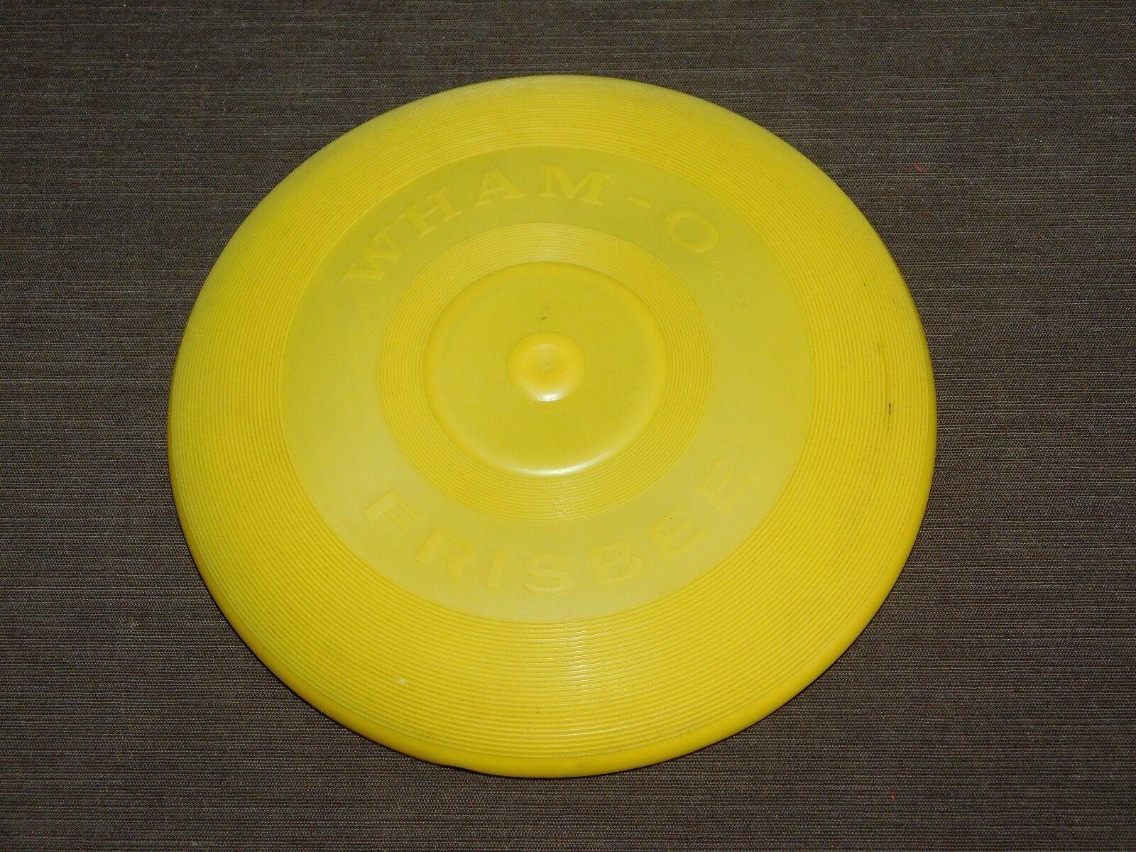 Alten spielzeug - 8 3   4  in 1966 wham-o gelbe frisbee