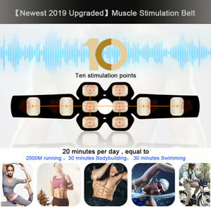 USB-Rechargeable-EMS-Abdominal-Toning-Belt-Abs-Muscle-Toner-Stimulator-Fitness