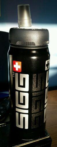 SIGG Siggnificant Active Sport Top Swiss Water Bottle Black 0.6 Liter 20 oz NEW