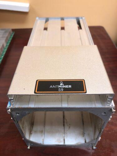 1 Set Used Bitmain Antminer S9 Alunminium Case Enclosure with screws