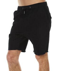 New Zanerobe Men's Sureshot Mens Short Cotton Elastane Black
