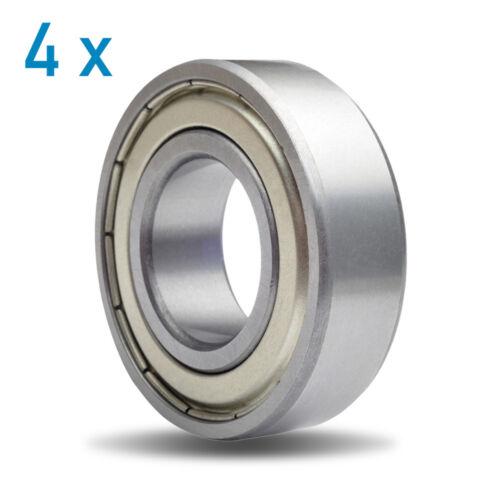 636ZZ 2Z Metal Shielded Deep Groove Ball Bearing 6x22x7mm