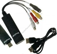 Easy Rcausb2.0 Video Capture,vcr/camcorder/8mm/vhs Tapedvd Maker/adapter$shdis