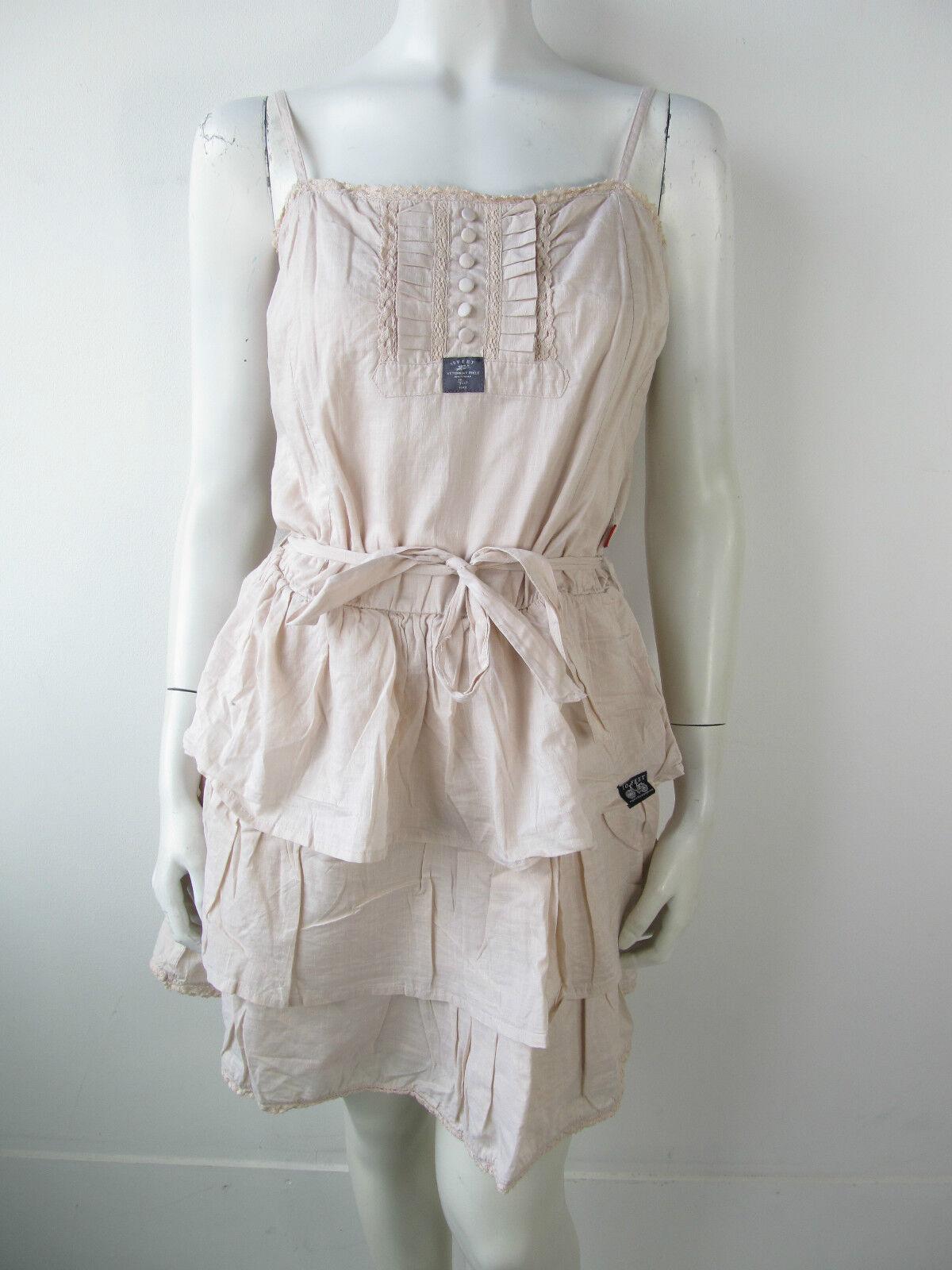 10Feet 10 Feet Jeans Kleid Kleed Dress Jurk Blaush Neu S