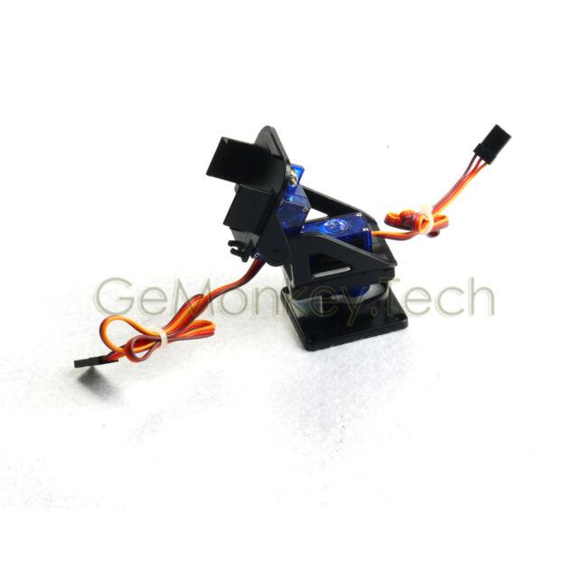 Camera Platform Anti-Vibration Mount & Servo for Aircraft FPV Arduino Compatible
