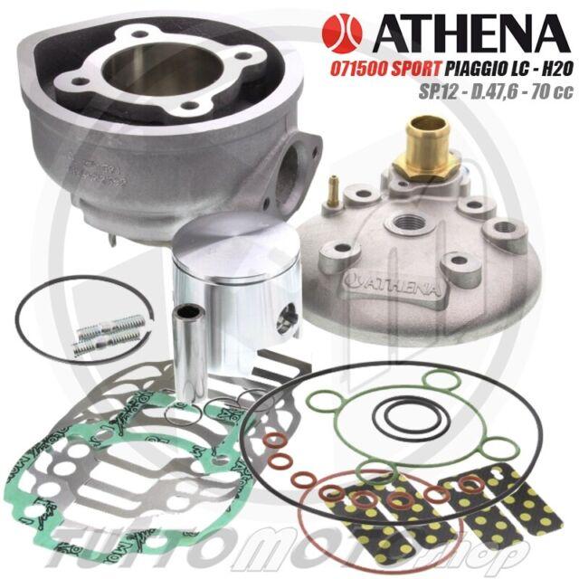 ATHENA SPORT KIT GRUPPO TERMICO 70 cc 47,6 PIAGGIO NRG MC3 LC 50